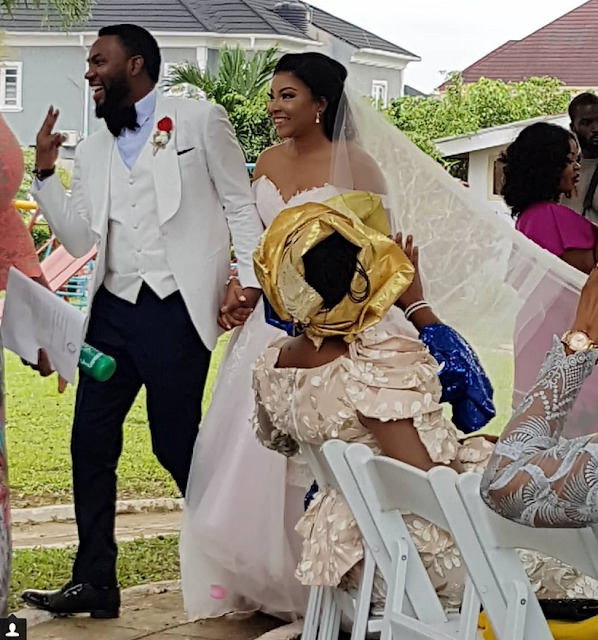 The Insider: Exclusive Photos From The White Wedding Of Linda Ejiofor 3