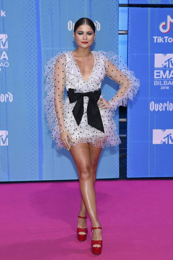 2018 MTV EMAs: The Best Dressed Celebrities On The Red Carpet 6