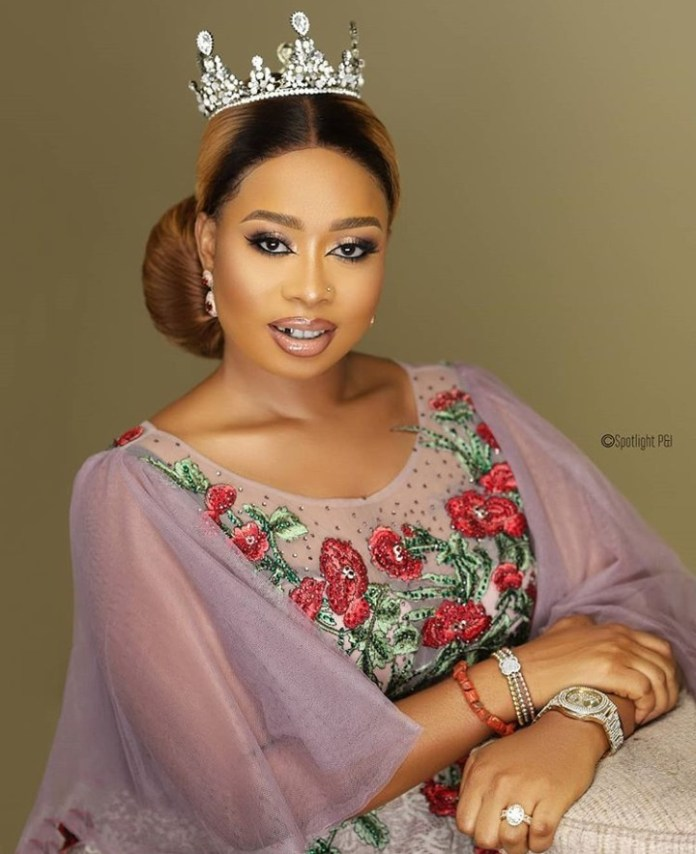 Queen Ola, Wife Of Alaafin Of Oyo Releases Stunning Images To Celebrate 29th Birthday 2