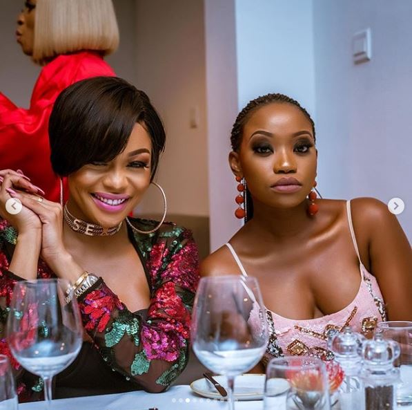 The Insider: All The Glam, Gifts And Celebs At Toke Makinwa's Birthday Dinner Party 3