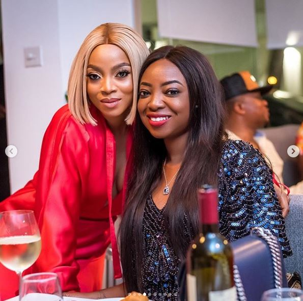 The Insider: All The Glam, Gifts And Celebs At Toke Makinwa's Birthday Dinner Party 4