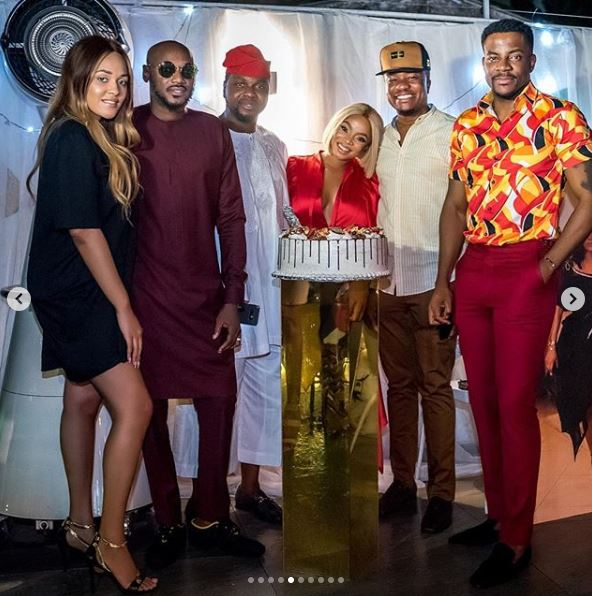 The Insider: All The Glam, Gifts And Celebs At Toke Makinwa's Birthday Dinner Party 5