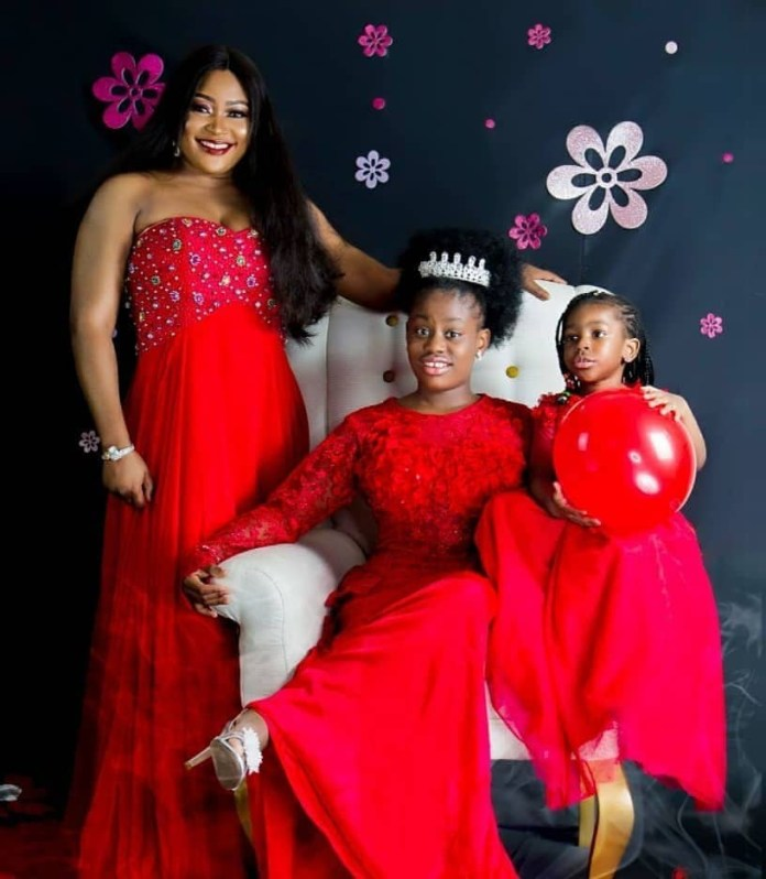 She Has A Mission To Fulfill On Earth - Uche Elendu Releases Beautiful Photos As She Celebrates Daughter's 10th Birthday 2