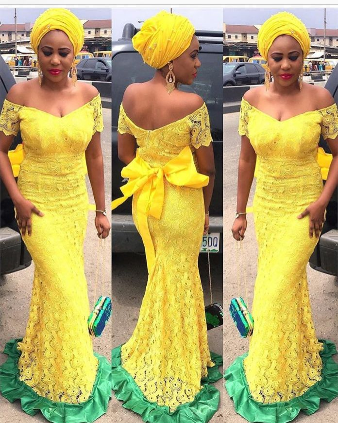 Aso Ebi Style: Step Out In Yellow And Embrace Your Sunny Bright Beauty 2