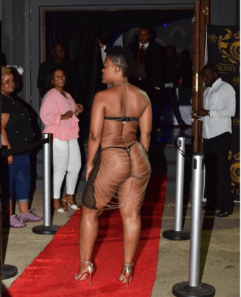 Unbelievable! You Won't Believe How South Africa's Zodwa Wabantu Stormed An Event 6