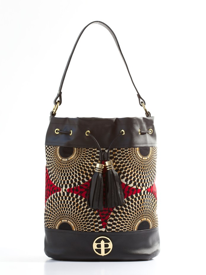 Ankara Style: Trending Colourful Bag Designs That Will Make Your Friends Green With Envy 10