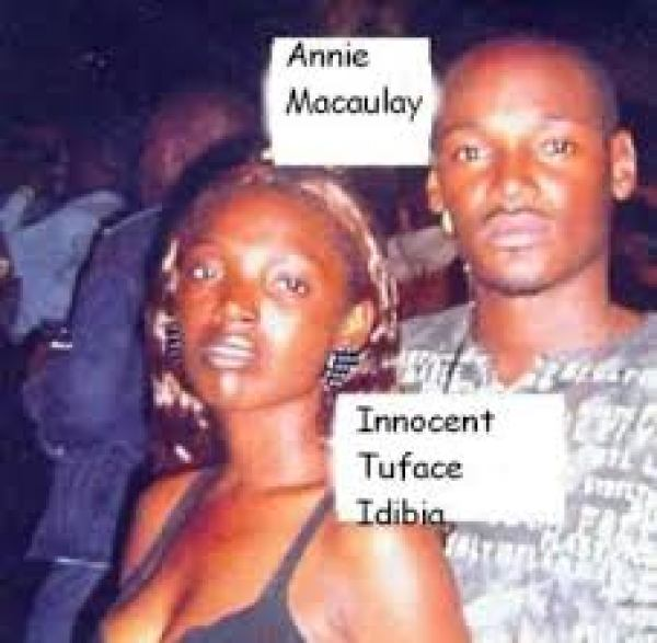 Throwback of 2face and Annie Idibia