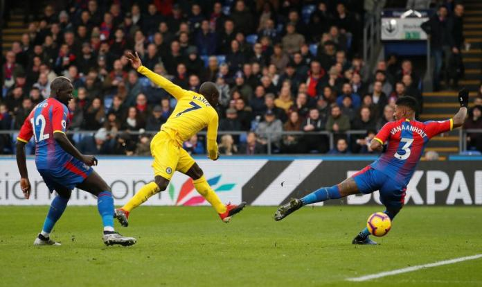 Crystal Palace 0 Chelsea 1: N'Golo Kante Scores To Help Sarri's Boys Sink The Eagles 1