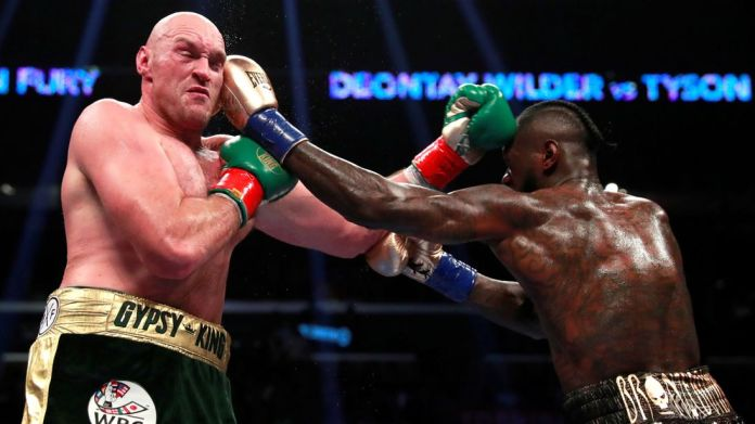 Tyson Fury Blasts Anthony Joshua And Dillian Whyte As He Congratulates Deontay Wilder 4