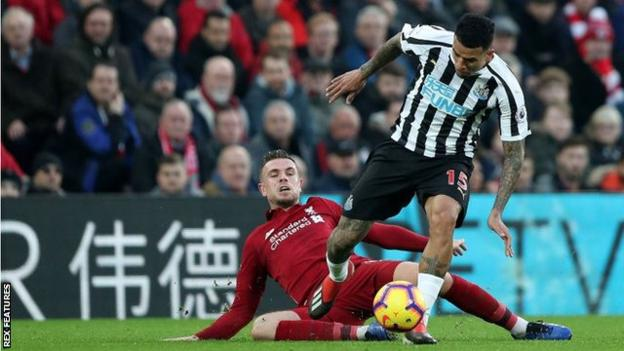 Liverpool	4 Newcastle 0: Reds Beat Magpies To Extend Premier League Lead 2