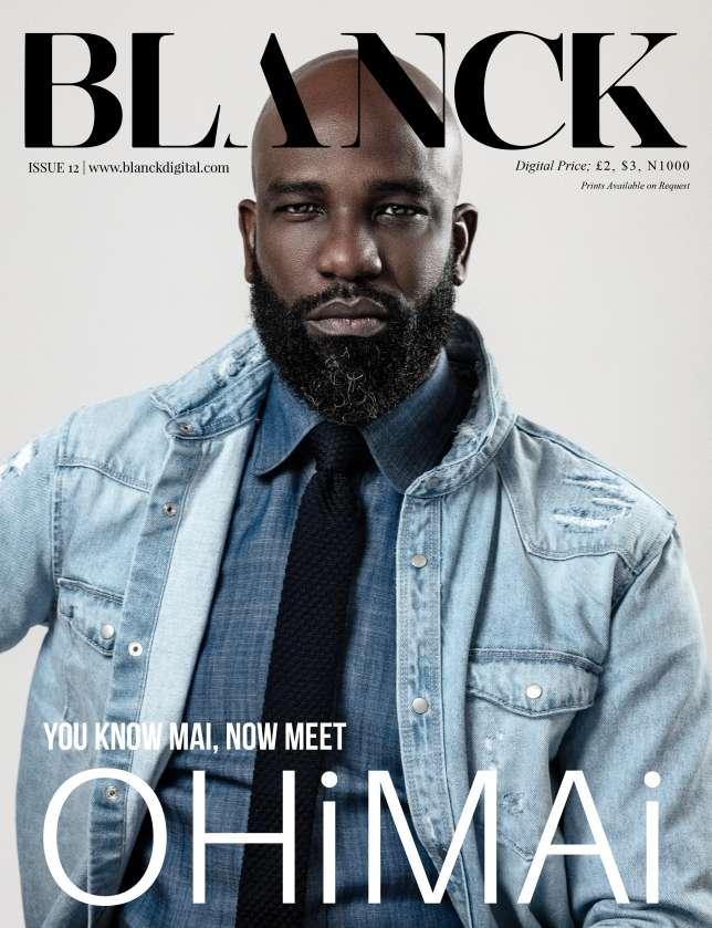 Celebrity Designer Mai Atafo Covers Blanck Magazine's 12th Issue. 2