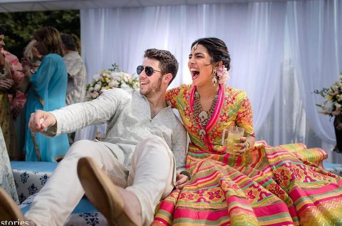 Beautiful! Nick Jonas and Priyanka Chopra Tie The Knot In India 1