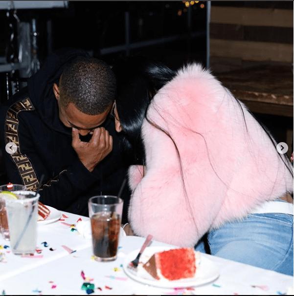 Ewww! Nicki Minaj's Rapist Boyfriend Sucks Her Toes 3