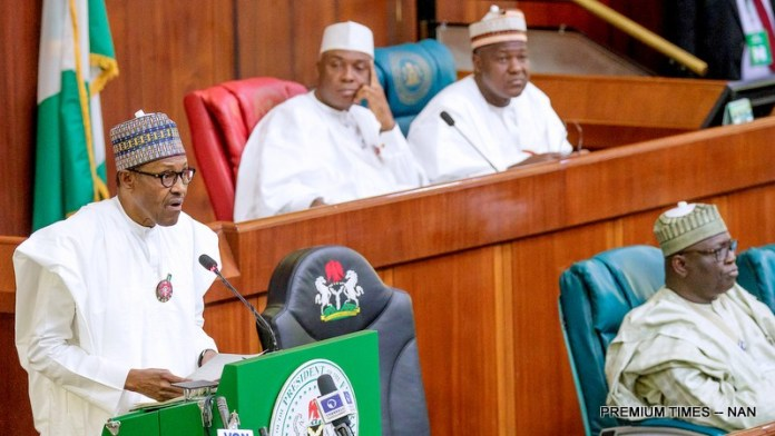 2019 Budget: Senators And Representatives Jeered And Booed President Buhari 1