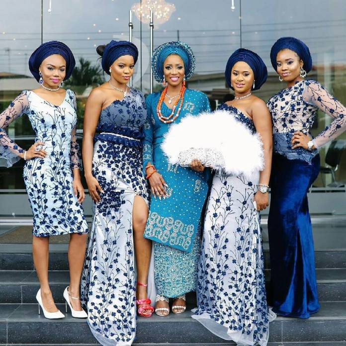 Aso Ebi Style: Slay At Your Next Owambe With These 4 Stunning Party-Ready Friend Styles 3