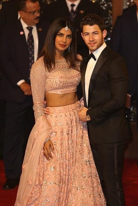 Priyanka Chopra Stuns In Stuning Lehenga As She And Husband Nick Jonas Attend Lavish $100m Wedding In India 2