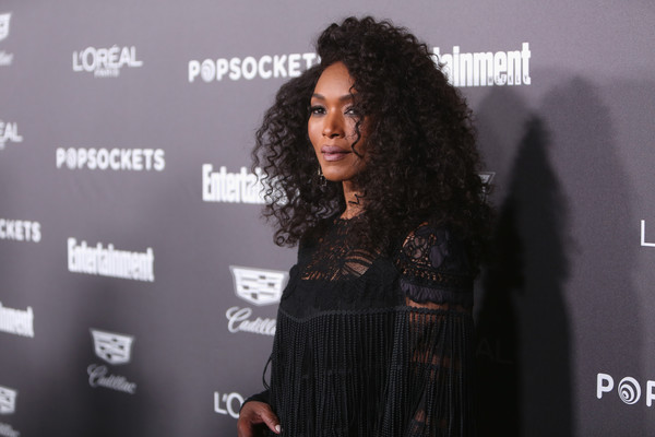 Daily Beauty Look: Angela Bassett Oozes Black Beauty With Voluminous Long Curls At Entertainment Weekly Party 1