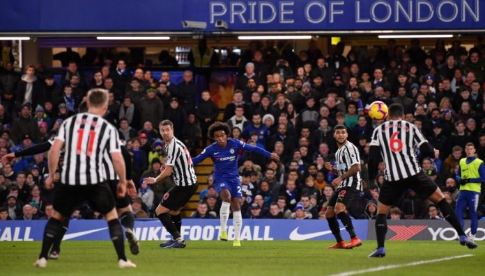 Chelsea 2 Newcastle 1: Willian's Stunner Gives Blues The Winner Against Resilient Magpies 3