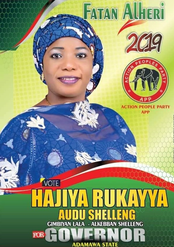 2019 Adamawa Governorship Election: Meet Governorship Aspirant, Rukayya Audu 1
