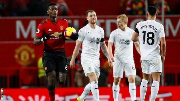 Manchester United 2 Burnley 2: Lindelof Rescues A Point For Solskjaer As Winning Run En 1