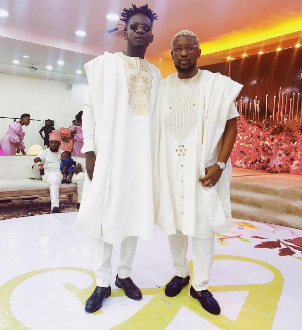 The Insider: Celebrities Turns Up For Simi And Adekunle Gold's Wedding 7