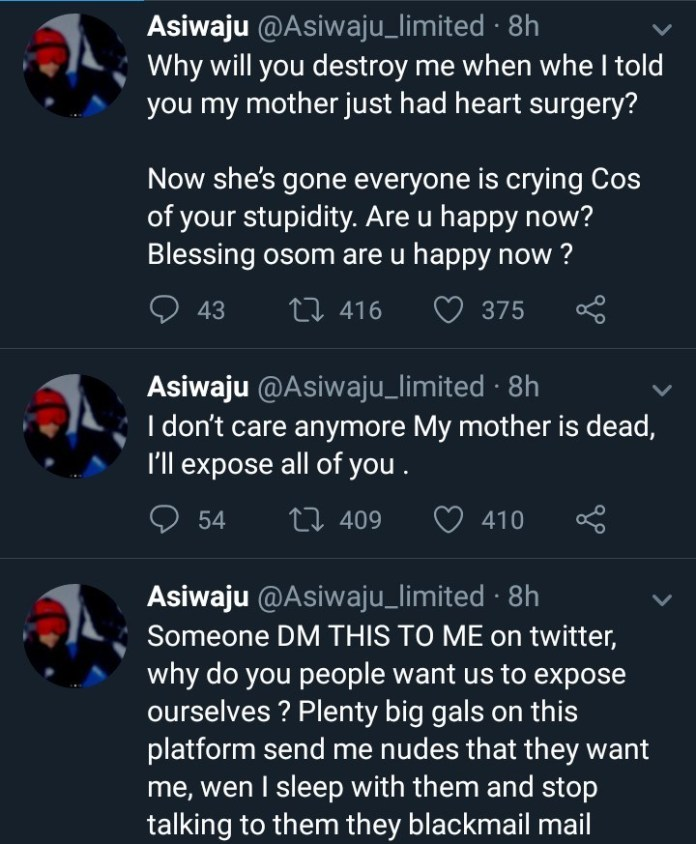 #AsiwajuDied: Businessman Asiwaju Who Was Accused On Twitter For Several Rape Allegations Has Commited Suicide 5