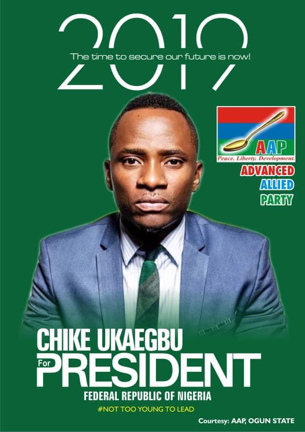 2019 Presidential Election: Meet Presidential Aspirant, Chike Ukaegbu 3