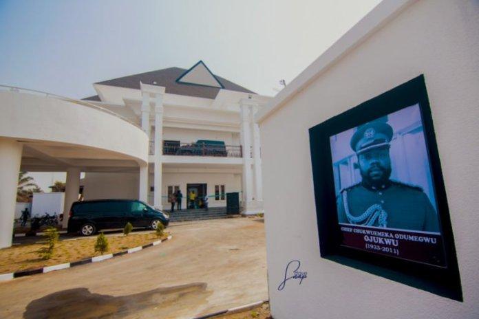 Checkout Stunning Images of Footballer Emmanuel Emenike's Newly Built Mansion 3
