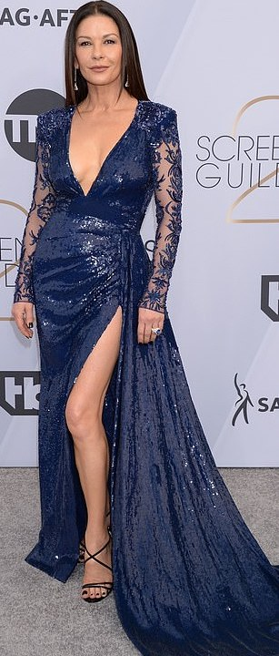 The Insider: Lady Gaga, Angela Bassett, Lupita Nyong'O Storm The Red Carpet Of The 2019 SAG Awards 2