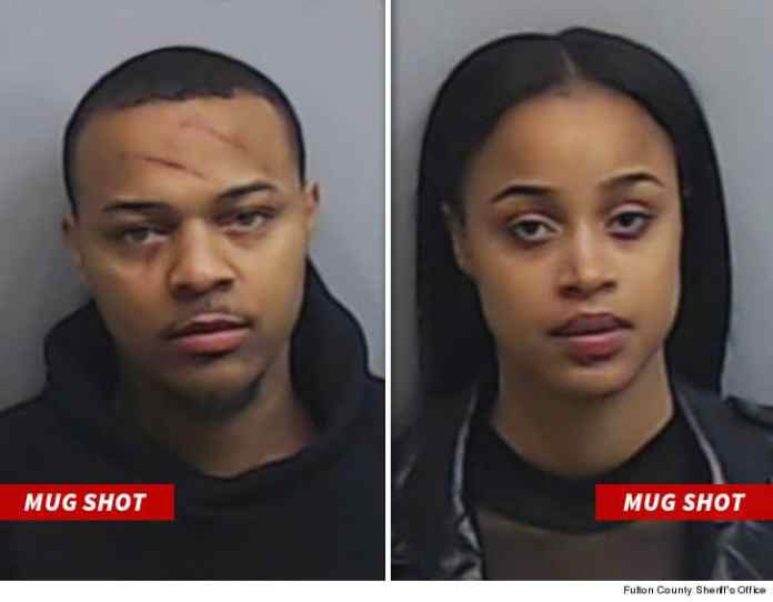 Surveillance Shows Bow Wow's Jealous Rage As He His Arrested For Getting In A Brawl With His GF 3