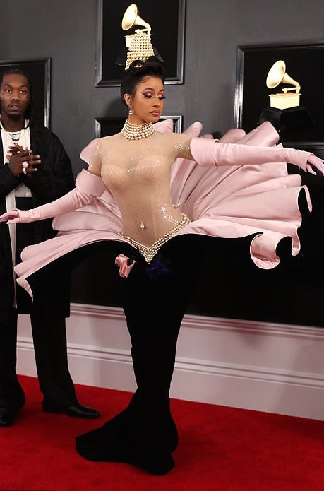 Must Watch: Watch Cardi B's Fitting For The Grammy Awards 1