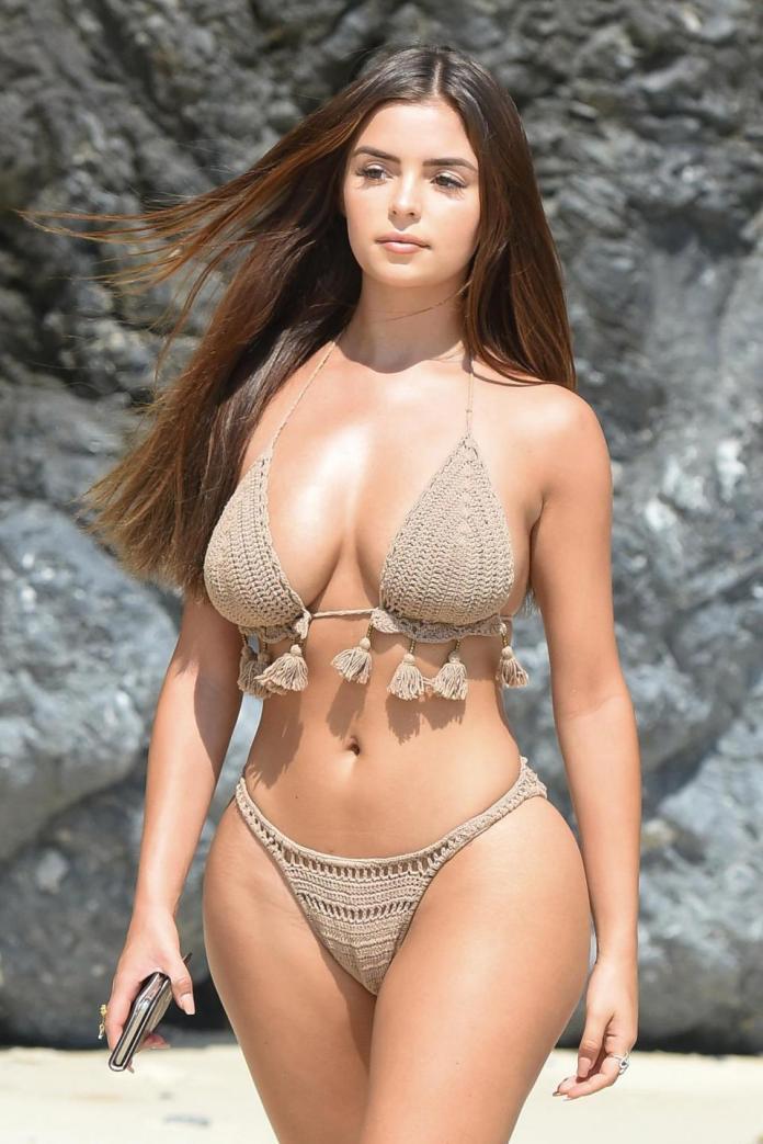 Sun, Sea And Swimwear: Demi Rose Flaunts Phenomenal Figure In A Fringed Bikini On Thailand Holiday 2