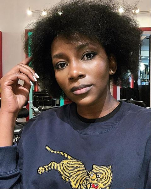 Genevieve Nnaji Is A Natural Beauty In Nude Makeup And Pink Lips 1