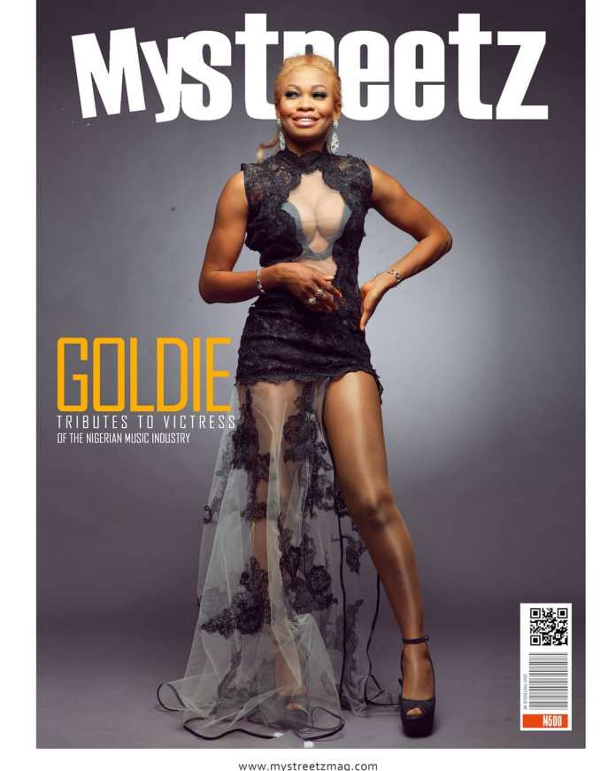 Denrele Edun, Eldee, Others Pay Tributes To Goldie On The 6th Anniversary Of Her In New Issue Of MyStreetz Magazine 1