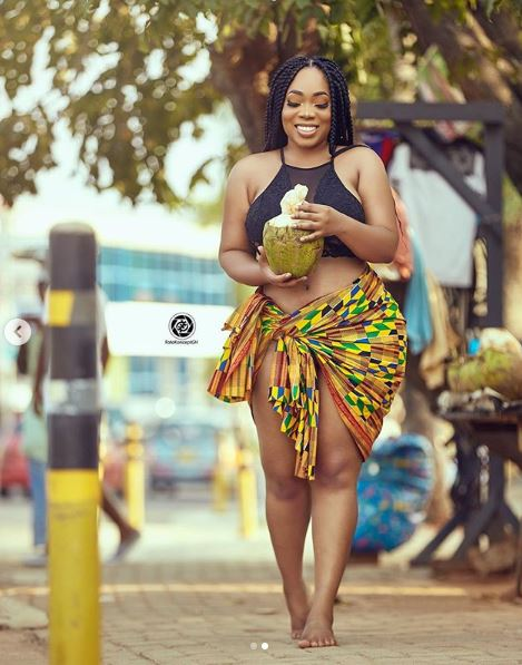 Smouldering! Moesha Boduong Flaunts Enviable Curves In New Sultry Images 2