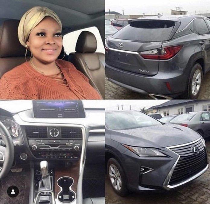 Yoruba Actress Omotoyosi Jayesimi Acquires New Luxury SUV 2