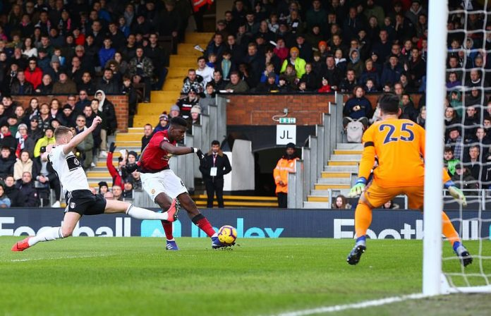 Fulham 0 Manchester United 3: Pogba Scores Twice Has Man United Returns to Top 4 Since August 2
