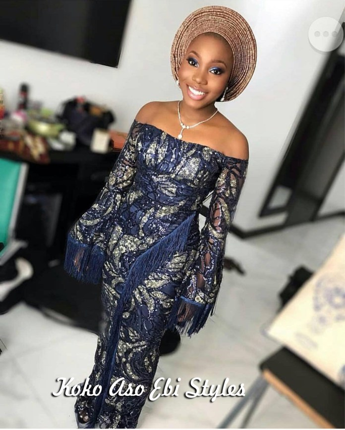 Aso-ebi Style: Five Stunning Wedding Guest Outfits That Are Totally Exquisite 2