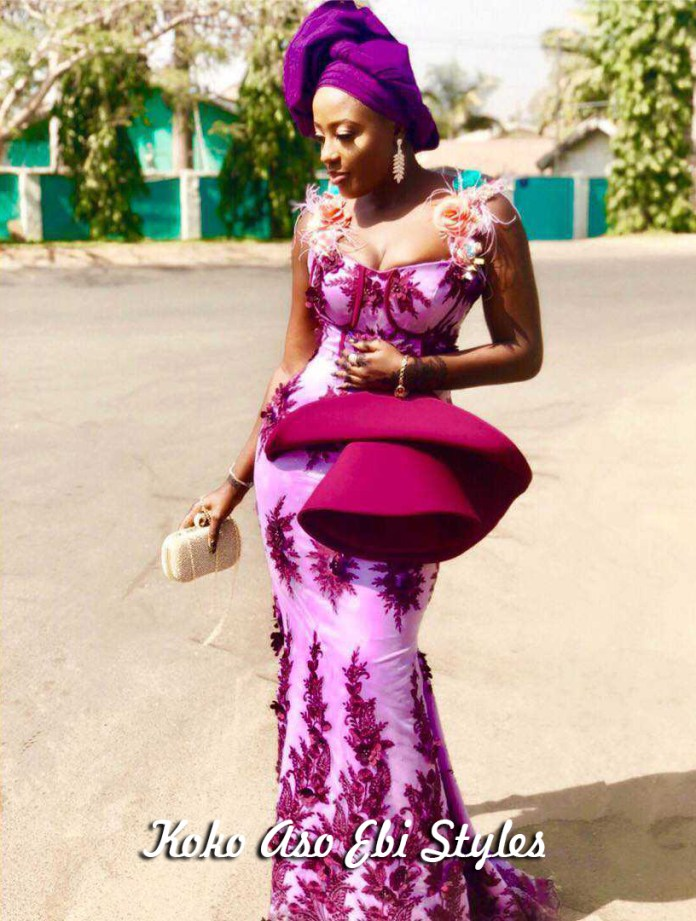Aso-Ebi Style: See These Five Eccentric Aso-Ebi Styles That Are Sure To Turn Heads At Owanbes 2
