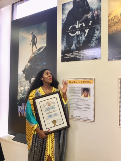 Stephanie Linus Gets Special Recognition For DRY At The Black History Month Ahead of Pan African Film & Arts Festival (PAFF) Screening 2