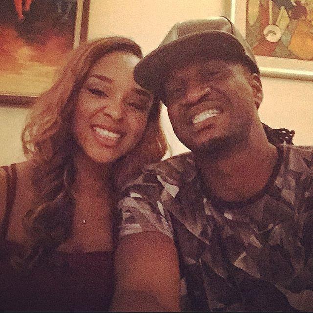 Anita Okoye AND Paul Okoye