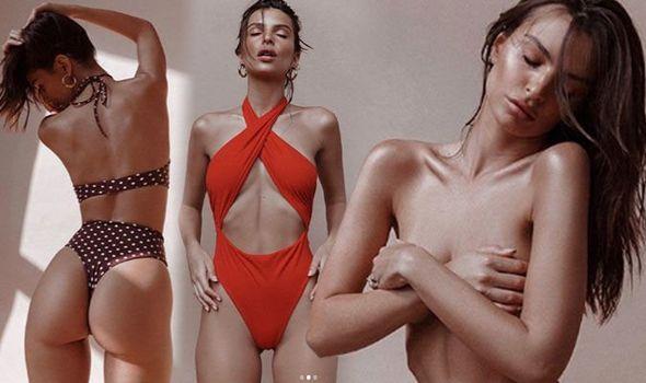 Emily Ratajkowski Set Pulse Racing As She Models Inamorata New Swimwear Collection 3