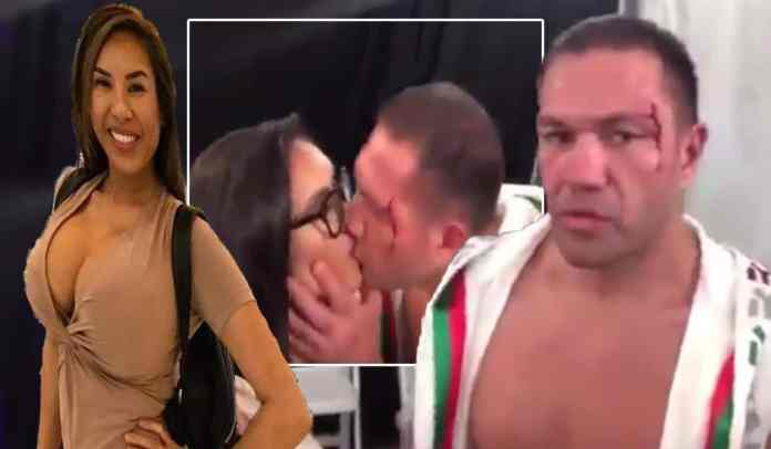 Meet Jenny Sushe, The Stunning Reporter And Naked Sushi Chef That Boxer Kubrat Pulev Kissed During Live Post-fight Interview 1