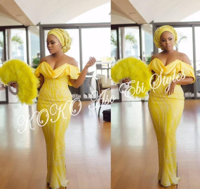 Ten Hot And Vibrant Aso Ebi Styles You Definitely Need To See! 3