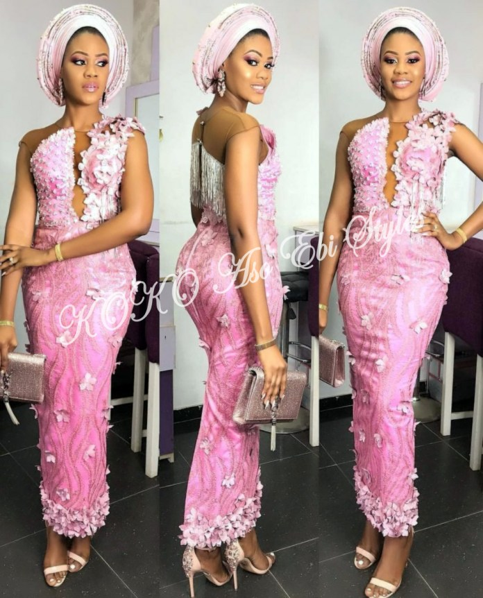 Ten Hot And Vibrant Aso Ebi Styles You Definitely Need To See! 4