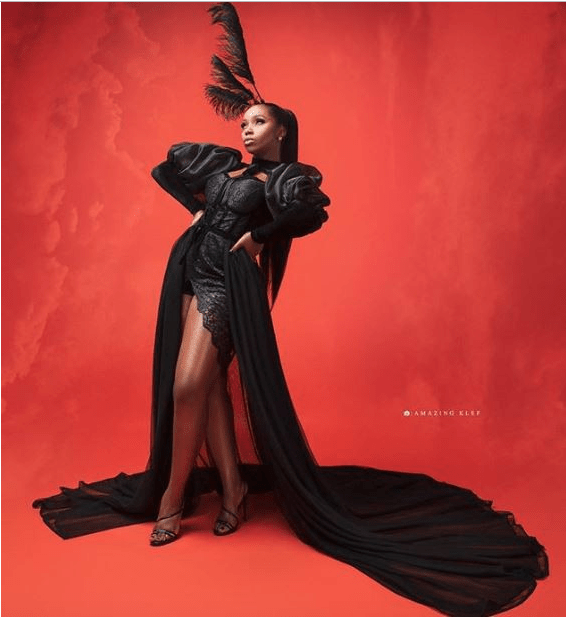 Hot Hot! Bambam Is The Sizzling Diva In An All Black Ensemble For Her 30th Birthday 1
