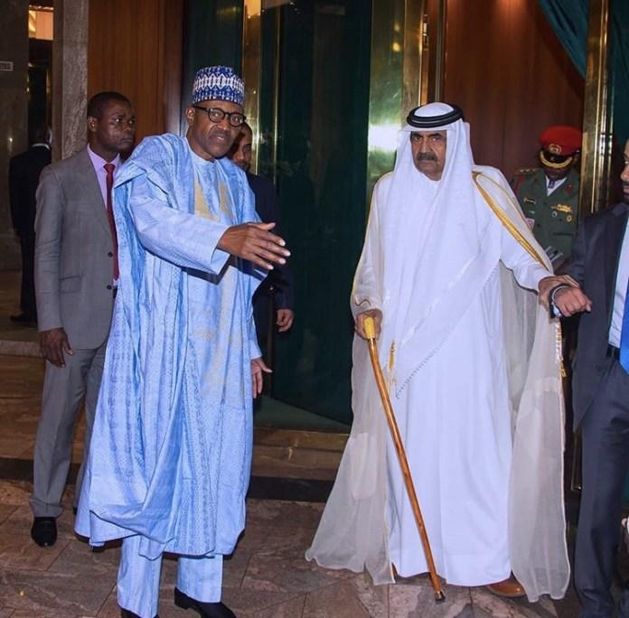 Buhari Set To Receive Qatari Ruler At Aso Rock Today, 23rd Of April 2