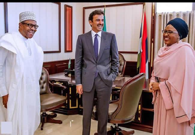 The Insider: Exclusive Photos Of President Buhari Hosting The Emir Of Qatar 2