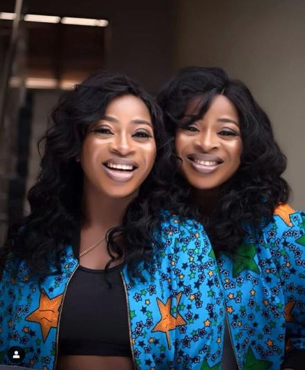 The Aneke Sisters Are Gorgeous And Twinning In Denim And Anakara Print 3