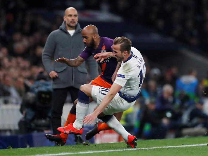 UCL: Tottenham Hotspur 1 Manchester City 0; Son Gives Spurs Advantage 3
